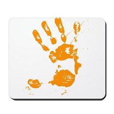 Paint Handprint Mousepad