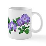 Blue Climbing Roses Mug