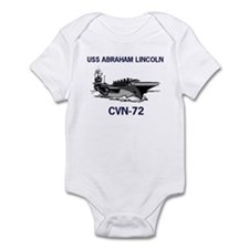 USS ABRAHAM LINCOLN Infant Creeper