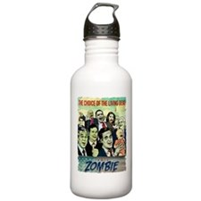 Vote Zombie Water Bottle