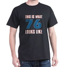 Cool 76 year old birthday designs T-Shirt