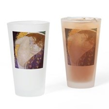 Gustav Klimt Danae Drinking Glass