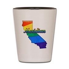 Meridian, California. Gay Pride Shot Glass