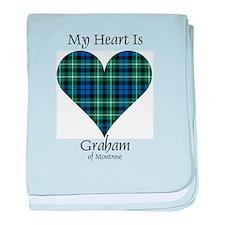 Heart - Graham of Montrose baby blanket