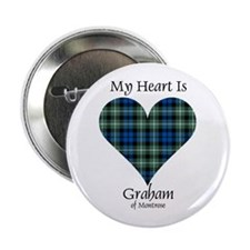 "Heart - Graham of Montrose 2.25"" Button (10 pack)"