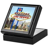 Las Vegas Sign Keepsake Box