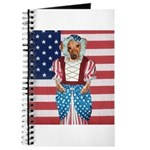 Dachshund Patriotic Dog Journal