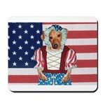 Dachshund Patriotic Dog Mousepad