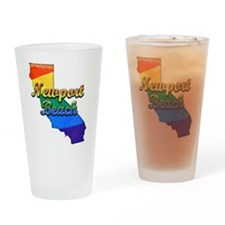 Newport Beach, California. Gay Pride Drinking Glas