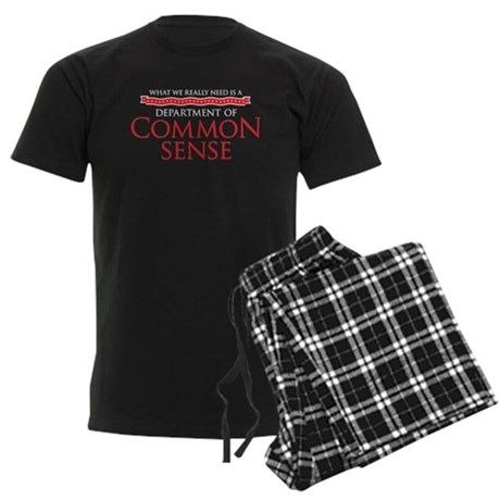 Department of Common Sense Men's Dark Pajamas