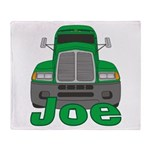 Trucker Joe Throw Blanket