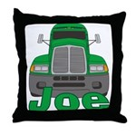 Trucker Joe Throw Pillow