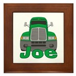 Trucker Joe Framed Tile