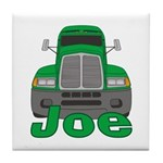 Trucker Joe Tile Coaster