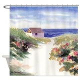 Summer In Nantucket Shower Curtain