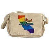 Port Kenyon, California. Gay Pride Messenger Bag