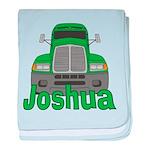 Trucker Joshua baby blanket