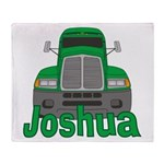 Trucker Joshua Throw Blanket
