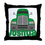 Trucker Joshua Throw Pillow