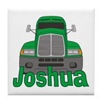Trucker Joshua Tile Coaster