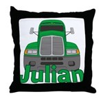 Trucker Julian Throw Pillow