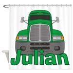 Trucker Julian Shower Curtain