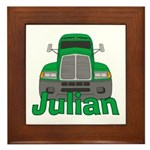 Trucker Julian Framed Tile