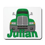Trucker Julian Mousepad