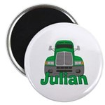 Trucker Julian Magnet