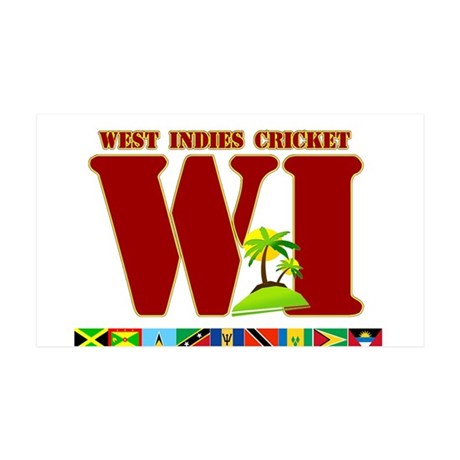 West Indies Cricket 38.5 x 24.5 Wall Peel
