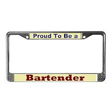 Hug a Bartender License Plate Frame