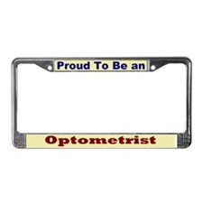 Hug an Optometrist License Plate Frame