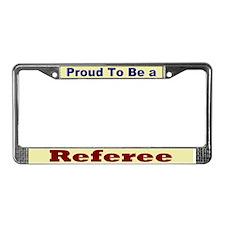 Hug a Referee License Plate Frame