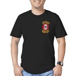 USMC - 51st Defense Battalion Men's Fitted T-Shirt