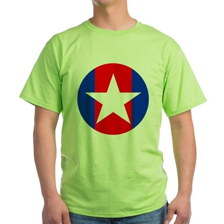 Captain Sweatpants Green T-Shirt