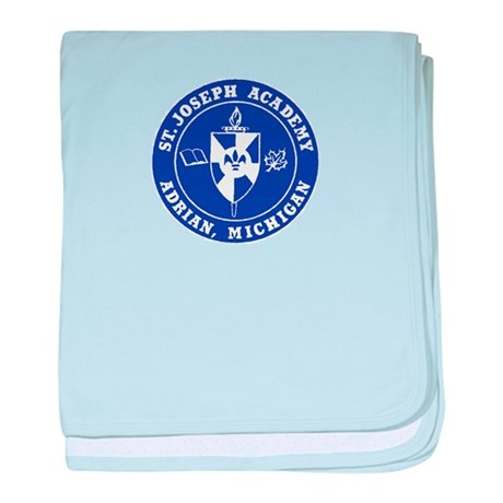 Blue Shield Logo baby blanket