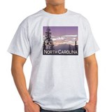 North Carolina Mountains Ash Grey T-Shirt