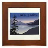 Lake Tahoe Framed Tile