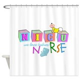 NICU Baby Shower Curtain