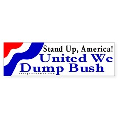 Stand Up, America... Bumper Sticker