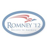 Romney 2012 Decal