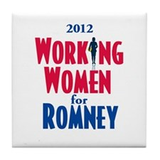 Romney WOMEN Tile Coaster