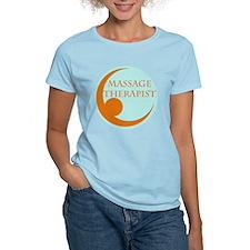 massage therapist logo round T-Shirt