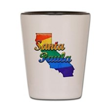 Santa Paula, California. Gay Pride Shot Glass