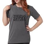 Music Melody Flutist Organic Kids T-Shirt (dark)