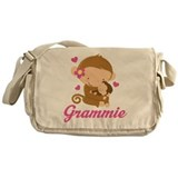 Grammie Monkeys Gift Messenger Bag