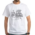 Alien Hoarder White T-Shirt