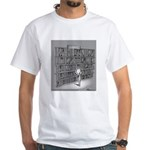 Science Fiction White T-Shirt