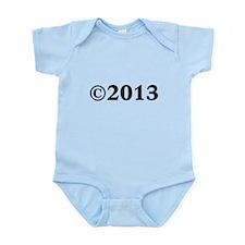 2013 Infant Bodysuit