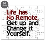Life Has No Remote Puzzle